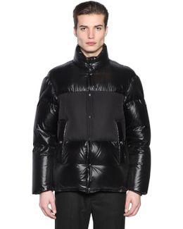 Aynard Laquè Nylon Down Jacket