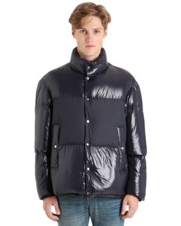 Aynard Laquè Nylon Down Jacket