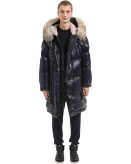 Atuyer Parka Down Coat W/ Fur Trim
