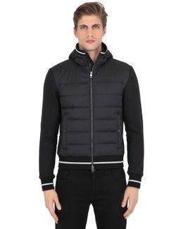Cotton & Nylon Down Jacket