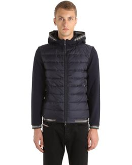 Cotton & Nylon Down Jacket