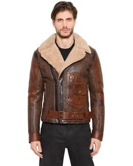 Danescroft Shearling Aviator Jacket