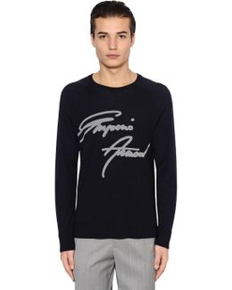 Signature Wool Jacquard Sweater
