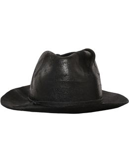 Waxed Wool Felt Hat
