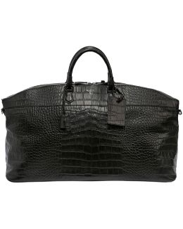 Leisure 14 Embossed Leather Duffle Bag