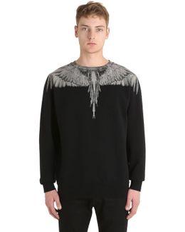 Jen Printed Cotton Sweatshirt