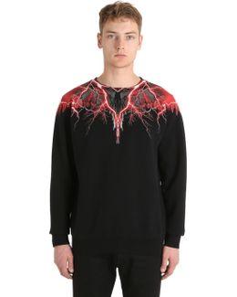 Worr Printed Cotton Sweatshirt