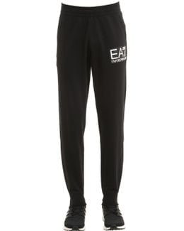 Train Logo Slim Cotton Sweatpants