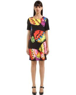 Butterfly Print Cady Dress