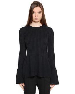 Mallory Merino Wool Blend Sweater