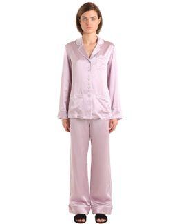 Coco Silk Satin Pajama Set
