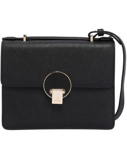 Opio Saffiano Leather Shoulder Bag