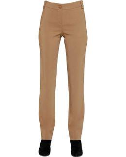 Stretch Viscose Pants