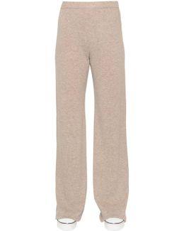 Wool & Cashmere Knit Pants