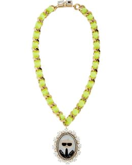 Karl Cameo Necklace