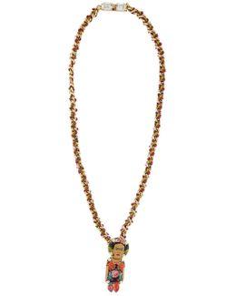 Frida Ribbon Pendant Necklace