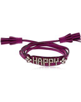 Blabla Alcantara Bracelet