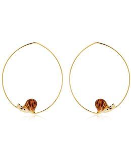 Mini Snail Earrings
