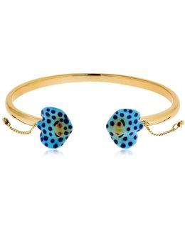 Blue Spotted Ray Bracelet