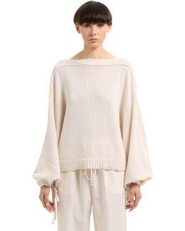 Cotton, Cashmere & Silk Blend Sweater