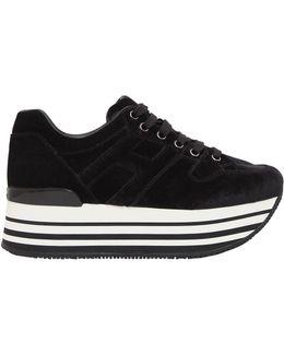 70mm Maxi 222 Velvet Sneakers