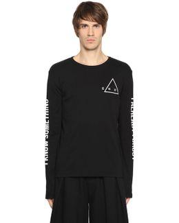 Printed Jersey Long Sleeve T-shirt
