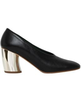 70mm Leather Pumps