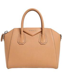 Small Antigona Grained Leather Bag