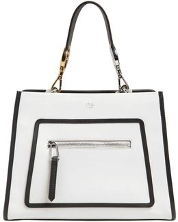 Small Runaway Leather Top Handle Bag