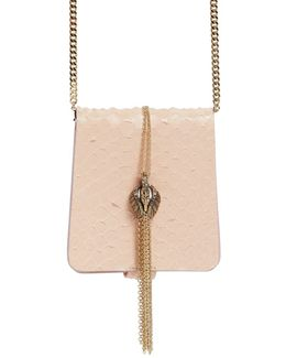 Small Secret Python Bag W/ Jewel Detail
