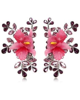 Secret Garden Clip-on Earrings