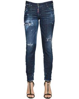 Jennifer Destroyed Denim Jeans