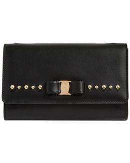 Mini Vara Studded Leather Shoulder Bag