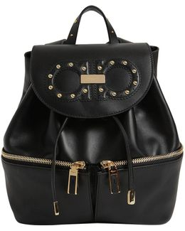 Jam Groove Leather Backpack