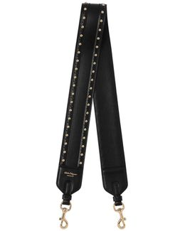 Leather Shoulder Strap W/ Studs