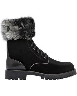 30mm Velvet & Mink Boots