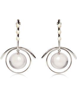 Sphere Hoop Earrings