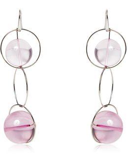 Multi Spheres Hoop Earrings