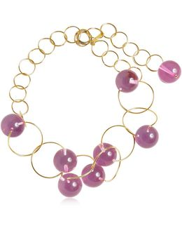 Multi Spheres Chocker Necklace