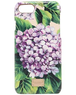 Hydrangea Printed Leather Iphone 7