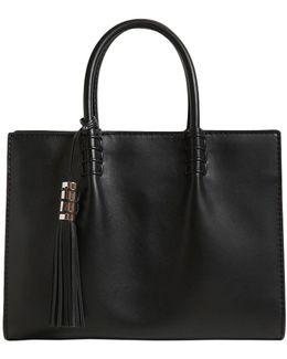 Medium Lady Mock Brushed Leather Bag