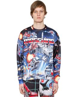 Transformer Print Techno Sweatshirt