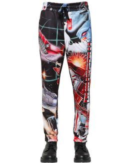 Transformer Print Techno Sweatpants