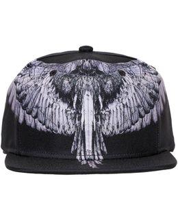 Wings Printed Tech Fabric Baseball Hat