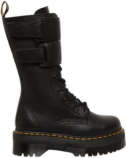 40mm Jagger Tumbled Leather Boots