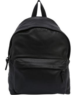 24l Pak'r Embossed Leather Backpack