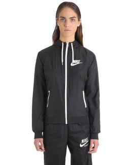 Og Hooded Zip-up Track Jacket