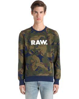 Core Printed Sweatshirt