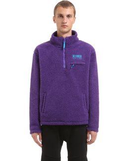 Oversized Half Zip Fleece Pullover