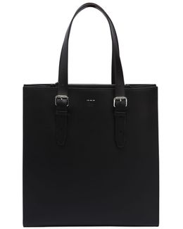 Urban Smooth Leather Tote Bag